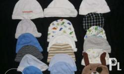 18pcs bonnets for baby boy fixed price meet up for sure