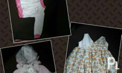 Fit up to 1yr old. Set of 3. Shipping fee not yet