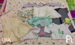 Preloved baby girl clothes Mixed sizes 3-6mos and