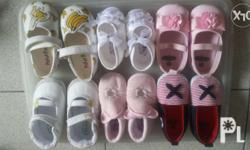 -- All reserved til Oct.2 -- Pre- loved baby shoes