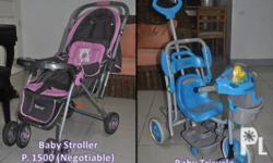 Baby Stroller in very good condition - Used for less