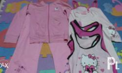 Preloved hello kitty set for girls ages 8 take all 6