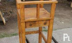 Baby Toddler Wooden High chair for sale!!! 1750 pesos