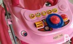 Slightly used baby walker in good condition. My baby