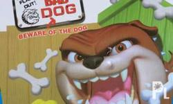Beware Of the bad dog. Cool game kids will like. No