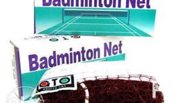 Badminton Net Original Not used just pm me for mor