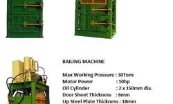 Heavy Duty Baling Machine (Power press) Features: -