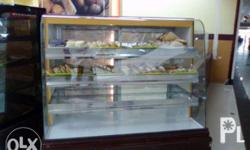 electric oven, bread display showcase, cake chiller