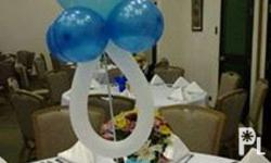 Balloon Package 2 Pillars 1 Cake Arch 30