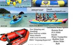 Inflatable Water Games Price list BANANA BOAT 3 person