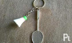 For SaLe!!! Badminton Key Chain. P120. Brand New. SM