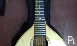 brand new solid rosewood banduria with freebies and