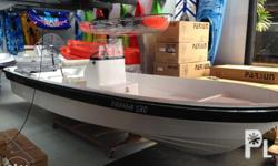 Bangkapro Fiberglass boat without outboard engine
