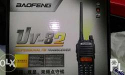 New arrival. Brand New. Baofeng uv82 dual band, dual