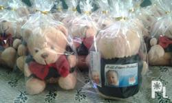 Meme Bears giveaways Dressed up bears with personalized
