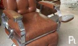 Two-(2) Units - 1920's NARDA's Barber's Chair Vintage,
