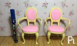 Barbie Doll Chairs 160 for 2 On hand ready for shipping