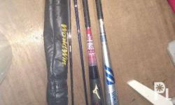 Mizuno alloy and carbon fiber baseball bat... Asahi