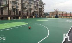 Basketball Court using DECOFLEX D-SERIES including