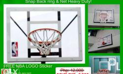 Junior King Basketball board with ring & net All Brand