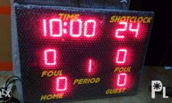 LED basketball scoreboard Different sizes and models We