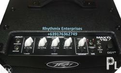 Brand New Peavey Max110 Bass Amplifier 100w Also