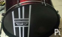 """Bass drum """"Steely"""" brand new Repriced from P3000 Now"""