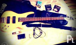 im selling my 5 string bass guitar...good condition..