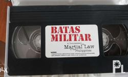 A documentary film of martial law in the Philippines.