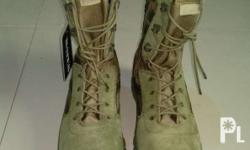 Brand new Bates tactical boots Size 7 to 12. With side