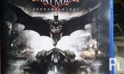 Batman Arkham Knight game disc no sracthes and damage