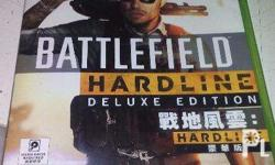 Battlefield Hardline (deluxe edition)Xbox360 game for