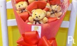 Bouquet of Tiny Bears - cute and unique gift for your