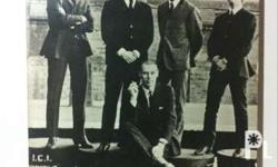 beatles with George Martin Vintage original picture