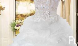 The Angelica Gown for rent at 6k or sale at 30k