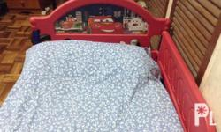 Disney Cars bed (with matress) for toddlers (2-5yo)