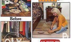 Bed under shoe organizer - good in keeping shoes - easy