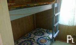 Bed space for rent at Buhangin, Davao City fronting