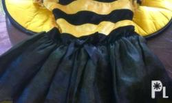 Bee costume with head band, best fits 1-2 years old;