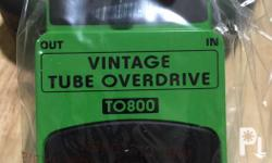 Behringer Vintage Tube Overdrive Guitar Effects TO800