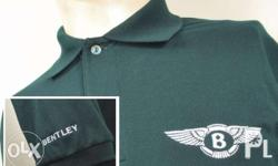 Bentley Polo Shirt . Polo Shirt Imported Honeycombed