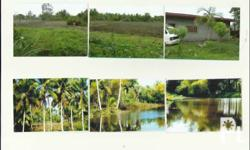 1hectar fishpond, 1 house with 2 bedrms, 1 cr, 2