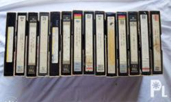 14 betamax tapes 27 movies Octopussy- James Bond The