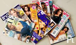 Beyonce Magazine Collection, you can reach me at