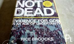 Apologetics Book - God's not Dead -Evidence for God in