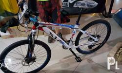Bought a bike - alloy frame - for my daughter. Used