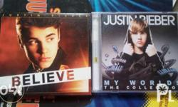 Selling Justin Bieber Believe and My Worlds Collection