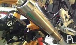 For sale or swap to stock pipe of any 600cc-1000cc M4