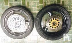 Suzuki Bandits Mags Rear 4.00 X 17 and Front #.00 X 17