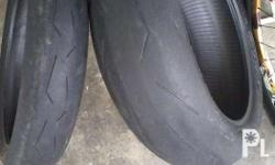 Forsale bigbike tires,120 70 17 200 55 17 Super corsa